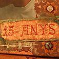 15th Anniversary Canvas - tag detail