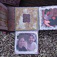 St. Valentine's Box & Album - album 2 with flaps opened
