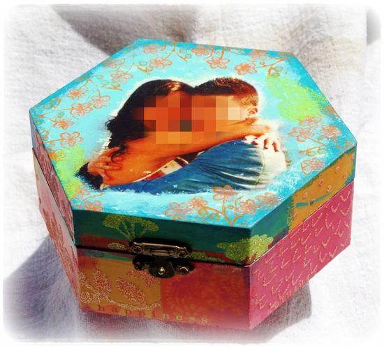 Caja alterada - 1pk