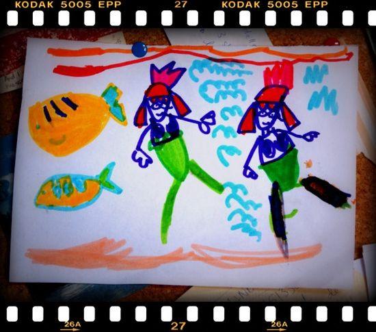 Annie's mermaids - june 09