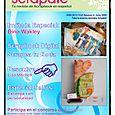 """Entrevistada en la revista Española de Scrapbooking, """"Scrapate"""" (julio, 2009)"""