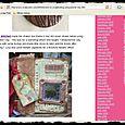 """Mencionada en la revista """"Scrapscene"""", en Internet (junio, 2009)"""