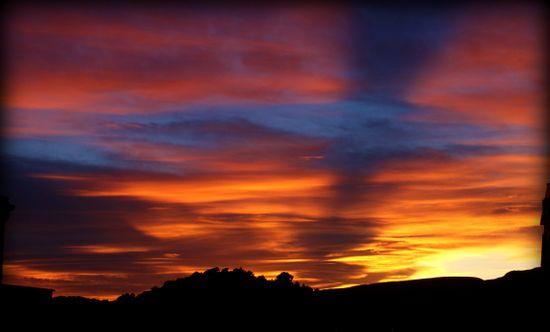4-12-09 - sunset