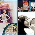 Talleres de Scrapbooking, Art Journaling y Mixed Media con Dina Wakley - Marzo,  2009