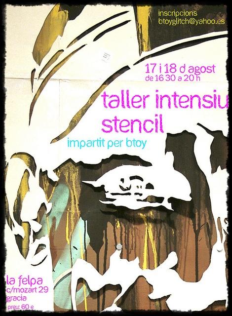 Taller stencil btoy