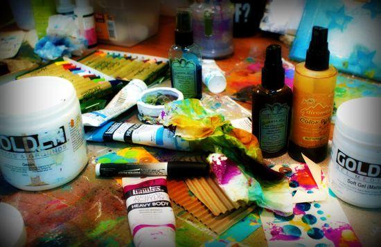 Taller AJ Lisa Mitchell - Creativa 2012