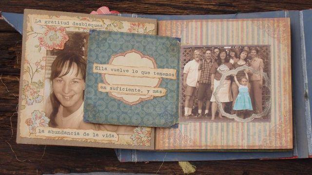 Gratitude album - pg. 2 - photo flap
