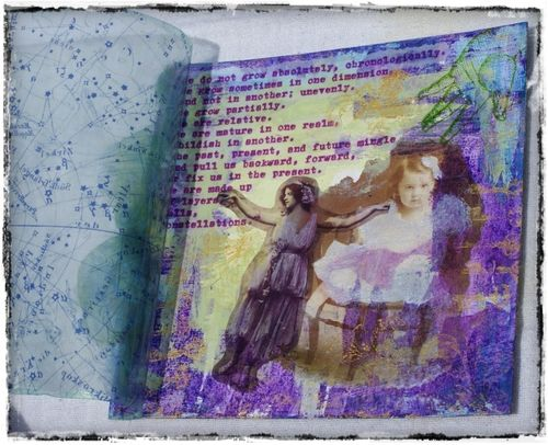 g-inspired Circle Journal project - Manda - 2