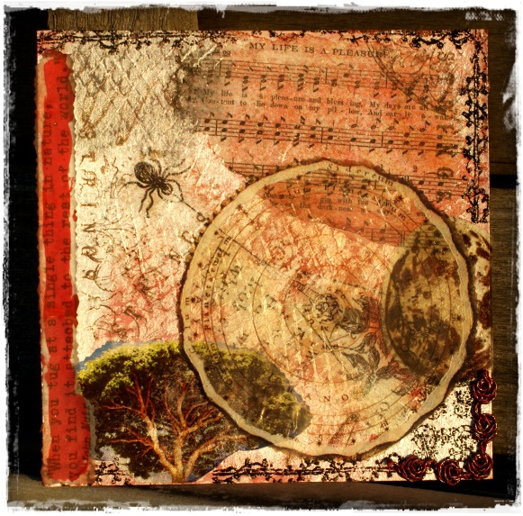 Circle Journal pages - lisad - strings