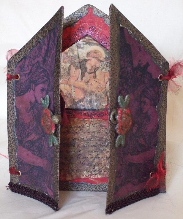 St. Jordi Shrine - doors open