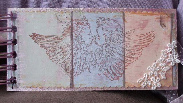 Mini-album - baby - back cover - inside