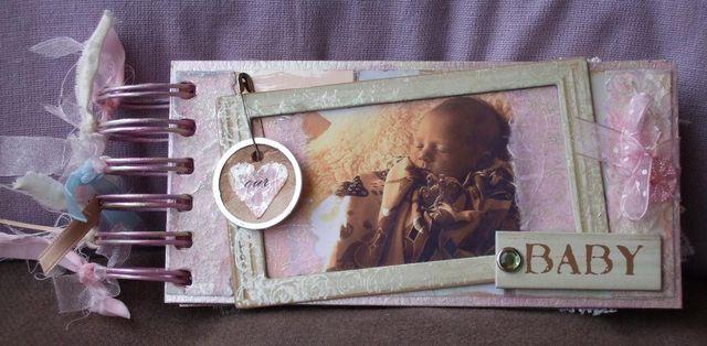 Mini-album - baby - cover