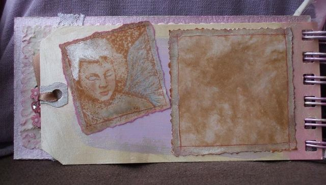 Mini-album - baby - page 1 inside