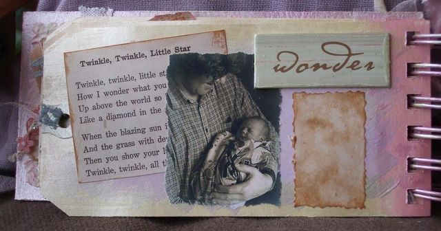 Mini-album - baby - page 3 inside