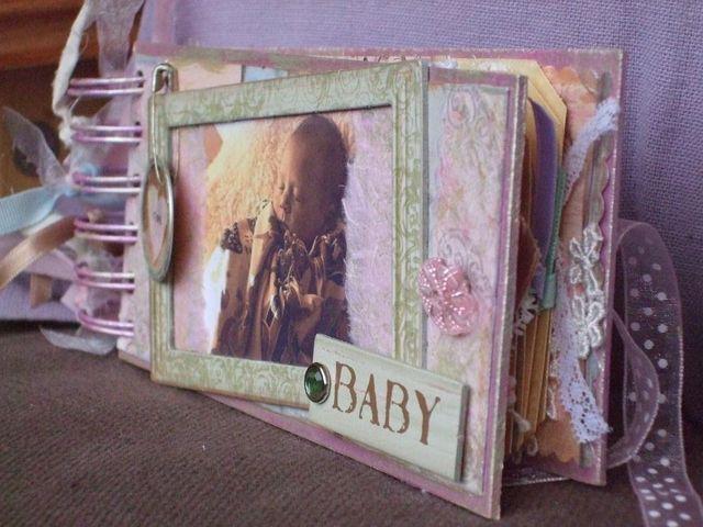 Mini-album - baby - sideview