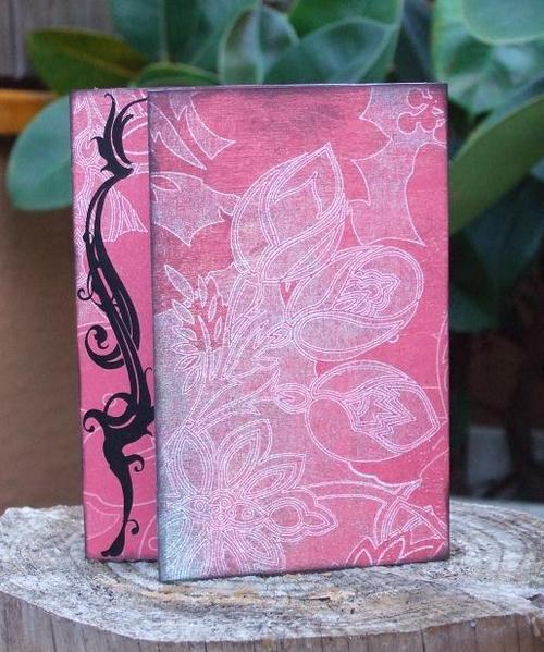 Garden Love tryptic card