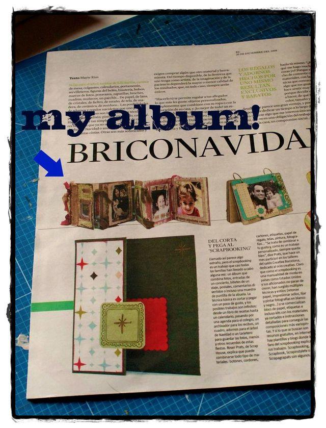 "Album in ""La Vanguardia"" newspaper - December, 2008"