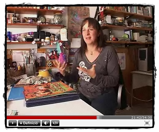 """Interviewed on the Catalan TV3 Program """"Karakia"""" - October 2008"""